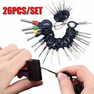 26/11xCar Terminali Temizleme Aracı Tel Fiş Konnektör Extractor Çektirme Yayın Pin