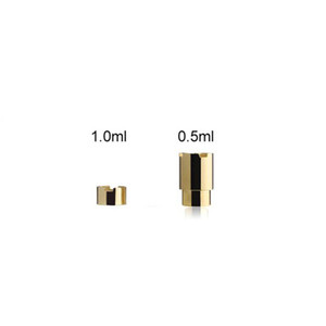 Komodo C5 магнитный адаптер 0.5 мл 1.0 мл золото C5 Магнит разъем для батареи Komodo 510 резьба испаритель картриджи DHL бесплатно