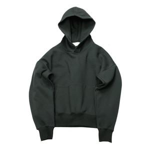 QoolXCWear hip hop hoodies with fleece WARM winter mens men women hoodie sweatshirt swag solid pullover V191019