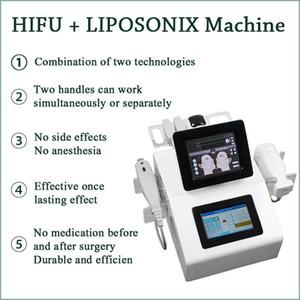 HIFU Liposonix HIFU macchina pelle stringendo HIFU ringiovanimento della pelle 2 in 1 liposonix corpo snellente efficace