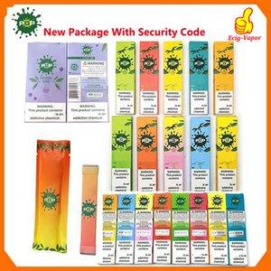 kod tek delikli boş pod 280mAh Pil 1.2ml Kartuş Vape Kalem VS puf çubukları artı tek kullanımlık Yeni Paket POP Tek vape