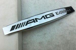 3D Métal AMG Edition Lettres Fender Emblème Badge Autocollant Decal Tronc Emblème Badge Autocollant pour Mercedes Benz