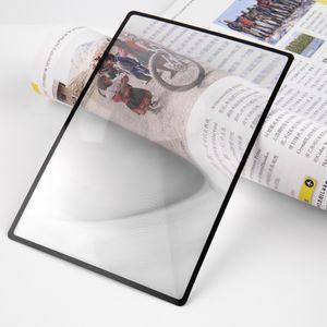 180X120mm Convinient A5 плоский ПВХ лупа лист X3 книга страница увеличение увеличительное стекло для чтения объектив новый