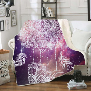 Religion Faith Pattern Household Cover Blanket Winter Warm Sofa Bed Chair Cold-proof Blanket Bedspread