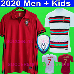 Portugal Maglie calcio Portogallo 2020 2022 euro RONALDO BERNARDO PEREIRA kit per bambini Maglie calcio PIZZI FERNANDES DIOGO J. GUERREIRO maglie bambino JOÃO CANCELO FÉLIX