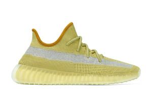 las mujeres de calidad superior de los niños Nueva Marsh v2 zapatos de Kanye West luz de la cola de los hombres de los zapatos corrientes tienda con la caja del envío de la 4-12