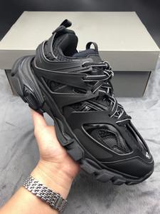 2020 zapatillas de deporte de la plataforma de París Track 3.0 Tess S. Gomma Trek Moda Hombres Mujeres Zapatos Casual las zapatillas de deporte zapatos para caminar Clunky Trainer Chaussures