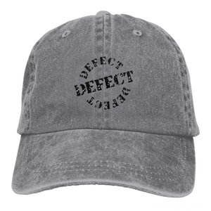 Defect Stamp Sign Sticker Washed Baseball Cowboy Fitted Snapback Hat for Men Hats & Caps Hats, Scarves & Gloves Women Casual Cap Sun Hat Out