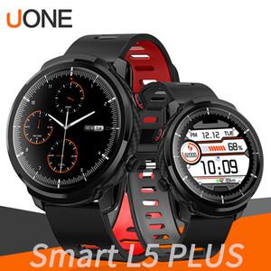 الرجال ووتش الذكية L5 بالإضافة إلى L3 IP68 للماء شاشة تعمل باللمس الكامل الانتظار الطويل ساعة ذكية معدل ضربات القلب الطقس PK B57 P80 P70