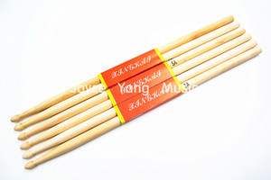 Niko 3 Pairs of Maple Wood Oval Tip Drum Sticks 5A Drumsticks Free Shipping Wholesales
