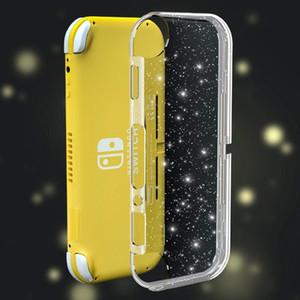 Кристалл Блеск чехол для Nintendo Переключатель Lite, Clear Блестящая Sparkly TPU флуоресцентный мягкий чехол крышка корпуса для переключателя Lite Free DHL