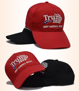 Many Styles Embroidery Cotton Adjustable Breathable Hat Trump 2020 Keep America Great Baseball Cap Outdoor Trump Unisex Caps A568