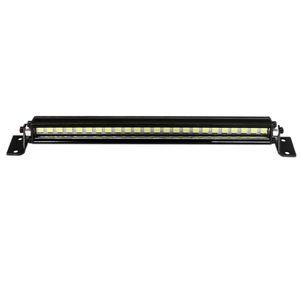 RC Araba Çatı Lambası 1/10 RC Paletli Axial 24 LED Light Bar SCX10 90046 90060 SCX24 Wrangler JK Rubicon Vücut