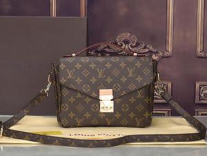Кожа женщин сцепления кошелек модный бренд сумки путешествия кошелек с плеча сумку corssbody мешок LOUΙS VUΙTTON 40