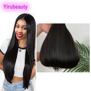 Peruivan dei capelli umani 3 pacchi disegnata doppio Virgin diritto Remy Raw capelli cuticola Aligned stragiht 10-22inch