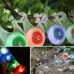 Outdoor Camping Decorative Lights Led Tent Rope Hanging Lamp Backpack Bicycle Warning Taillight Silicone Camping Lights EEA888