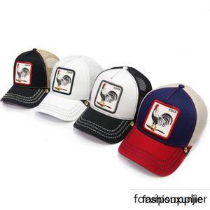 Hazır Stok Yeni Şapka Hayvan Nakış Beyzbol Erkekler Kadınlar Hip Hop Cap Caps