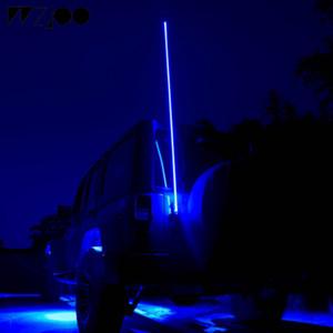 Kırbaç Işık 1.2 / 1.5 Kum Tepesi Buggy UTV ATV / 1.8m LED Bayrak Direği Emniyet Anten Kırbaç Işıklar GOLF 6 7 Kum Raylar için cip için