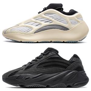 Line-up 700 v2 Kanye West Shoe hôpital Blue V3 700 Alva chaussures carbone Teal Tephra Vanta Inertie Aimant sel Geode statique Mauve Noir