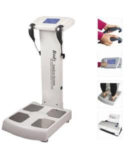 analizador de grasa corporal analizador de compuesto y muscular con la máquina de bioimpedancia con impresora análisis de impedancia bioeléctrica libre de impuestos