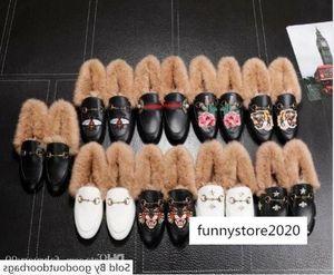 Designer Femmes Hommes cuir velours Jordaan Mocassins avec les femmes boucle de Mors fourrure unisexe appartements de luxe causales taille chaussures EUR35-41 r7