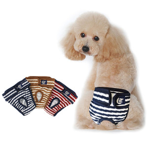 New Pet Physiological Pant Diaper Sanitary Washable Female Dog Shorts Panties Menstruation Underwear Briefs Jumpsuit For Dog D40