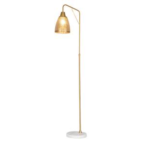 Pós-moderna lâmpada de assoalho sala de estar nórdico criativo ouro oco de ferro forjado estudo quarto decoração lâmpada de assoalho vertical