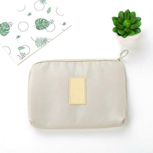 New Travel Storage Oxford Waterproof Bag For Women Lady Girl Electronics USB Charger Case Organizer Popular Cosmetic Bag