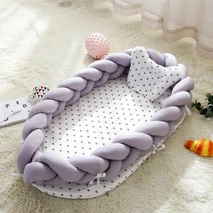 휴대용 아기 침대는 둥지 침대가 아기 생체 공학대 다기능 접 Anti-압력 생체 공학 둥지 남녀 공용 침대 여행 스타일 14