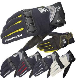 Japon K gants de moto marque gants de vélo respirant course moto gants anti-chute 3D