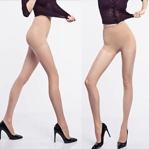 Yeni Seksi Silk Stocking Bacak Çorap Külotlu çorap Seksi Naylon Spandex Lady Tayt