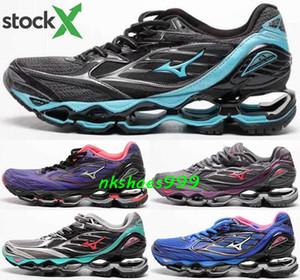 Schuhe Free Run Uomo Scarpe da uomo Mizuno Wave Prophecy 6 Dimensione US 12 EUR 46 Sneakers Sneakers Correre formatori Giallo classico Black Canvas Gym Donne
