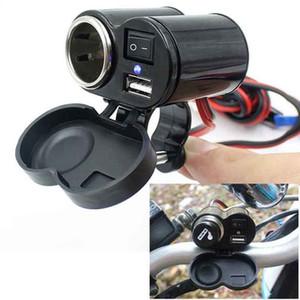 Toma de corriente de 12V del coche moto de la motocicleta del coche del barco ATV del tractor de mechero USB