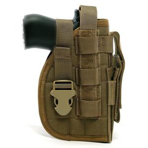 Tactical Pistol Molle Reep Gun Cobster с туристической сумкой для правой руки стрелки быстрый релиз пистолет кобуру талии