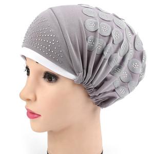 Muslimische Frauen Hijabs Kopftuch 2018 Frauen Hijab Cap Hut Mütze Cotton Under Schal Knochen Bonnet Halsteil Muslim