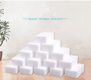 100Pcs magisches Schwamm-weißer Melamin-Schwamm-Radiergummi für Tastatur Auto Küche Badezimmer Reinigen Melamin reinigen Hohe desity 10x6x2cm EEA1892