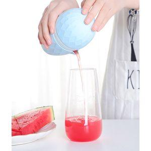 Portable Household Prismatic Manual Fruit Squeezer Multifunction Foodgrade PP Kitchen Lemon Grapefruit Watermelon Baby Kids Juice Extractor
