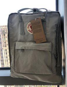Designer Fjallraven Kanken Special Color Scheme Belt Backpacks Unisex Leather Schoolbag Waterproof Outdoor Sports Bags Outlet 2