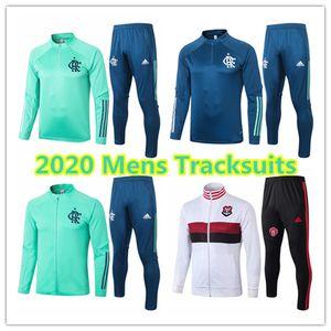 2020 2021 Flamengo RJ mens jacket Brasileiro football kits Ederson tracksuits soccer jerseys short sleeve Brazil Flamenco training shirt