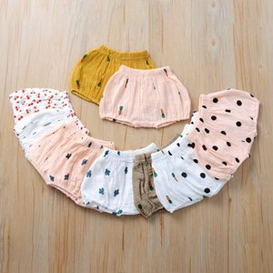11 Styles Toddler Baby Girl Baby girl Cotton Linen Shorts PP Pants fraldas Capas Desenhos Animados Blomers Summer Kids Clothing M1670
