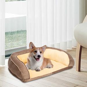 """36"""" -Hundebett Haustier Sofa Sitzkissen PP Cotton Brown atmungsaktiv und komfortabel Pet House"""