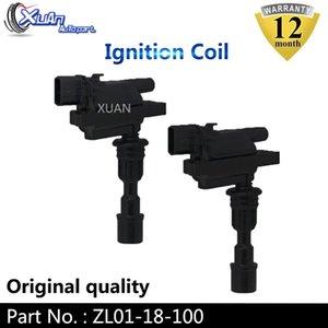 XUAN High Quality 2 pcs Ignition Coil ZL01-18-100 For 323 98-04 1.5L 1.6L Miata 01-05 1.8L L4 ZL01-18-100B UF-408