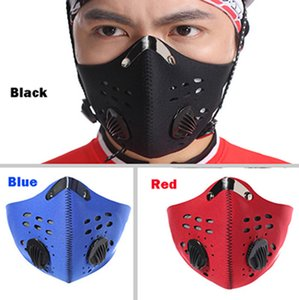 3 Colors Sports Outdoor Mountain Bike Riding Face Mask Activated Charcoal Reusable Mask PM2.5 Anti-Fog Haze Warm And Dustproof