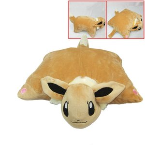 33*40cm Eevee Umbreon Cotton Plush Toys Soft Stuffed Pillow Doll Brithday Gift For Xmas Girl Friend