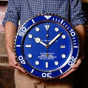 Luxo metal barato Relógio de parede Modern Design Art Pow Patrol parede Assista Home Decor Wall Clocks com Logos CJ191214