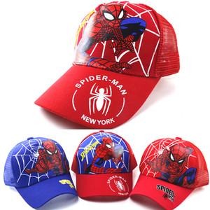 2020 Cappelli europea e occidentale di Spider-Man estate del fumetto ragazzi cappello web dei bambini berretto ragazze berretto da baseball di protezione solare esterna