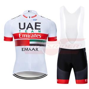 2019 Pro Team UAE Vélo Jersey 9D Set VTT Vêtements De Vélo Vêtements Vélo Ropa Ciclismo Mens Short Maillot Culotte