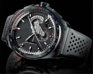 2020 новый Дешевые Высокое качество Роскошная Мужские часы автоматические механические Rubber Band Black Men Мужские часы спортивные часы Montre люксусный