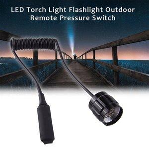 Luz Traseira Outdoor Preto Caça Tático Acessórios Lanterna Pressostato remoto Militar LED tocha para 501B