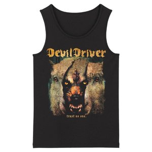 Bloodhoof DevilDriver heavy metal Deathcore men's top black O-neck Tank Tops Asian Size